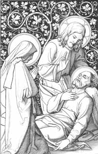 The death of Saint Joseph